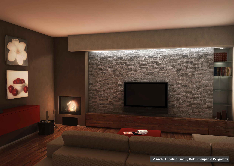 di interni - progettazione di soggiorno - Progettazione di interni ...